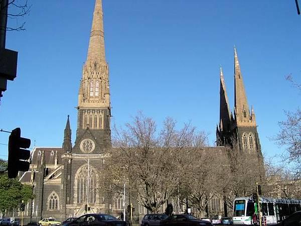 澳洲 墨爾本 聖派崔克教堂