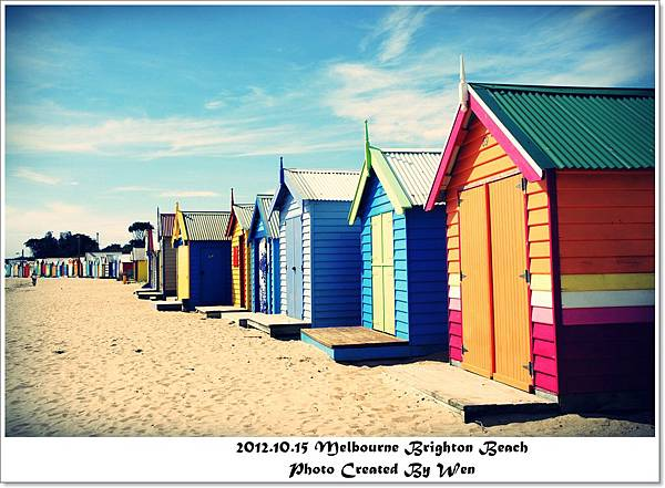 2012.10.15 Melbourne Brighton Beach (2)