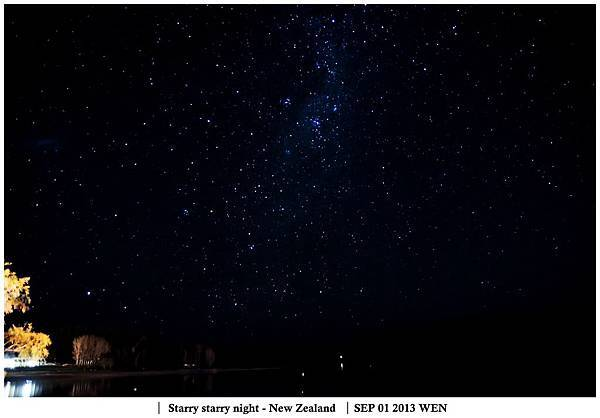 Starry starry night - New Zealand