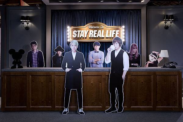 STAY REAL LIFE #在場証明 - Welcome to StayReal Motel展場入口櫃台.jpg