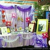 G01A01K 繽紛紫戀~主題氣球佈置 2