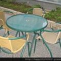 休閒藤製桌椅