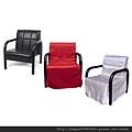 鋼管沙發+椅套