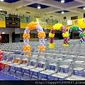 畢業典禮會場佈置