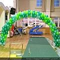 H02A45 花園主題風氣球拱門2