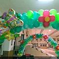 H02A45 花園主題風氣球拱門3