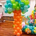 H02B39 造型氣球樹2