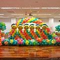 H02B43 陽光畢業氣球柱牆2