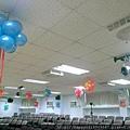 H02F05A 垂吊式微笑氣球花1