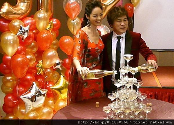 香檳杯塔租用