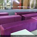 I06A003B 絲絨紫土司椅出租-3