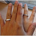 一模一樣的簡單款婚戒