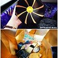 午餐-旅行社準備的花壽司餐盒