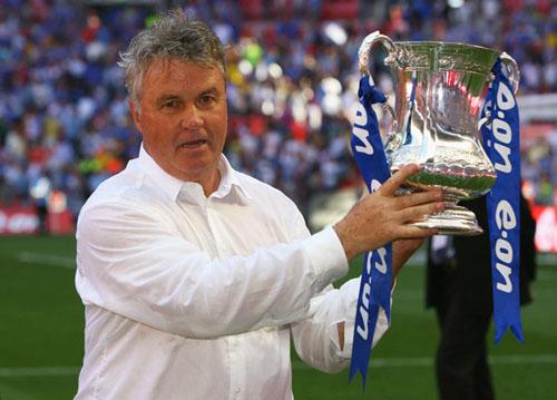 98.5英國足總盃冠軍切爾西總教練希丁克