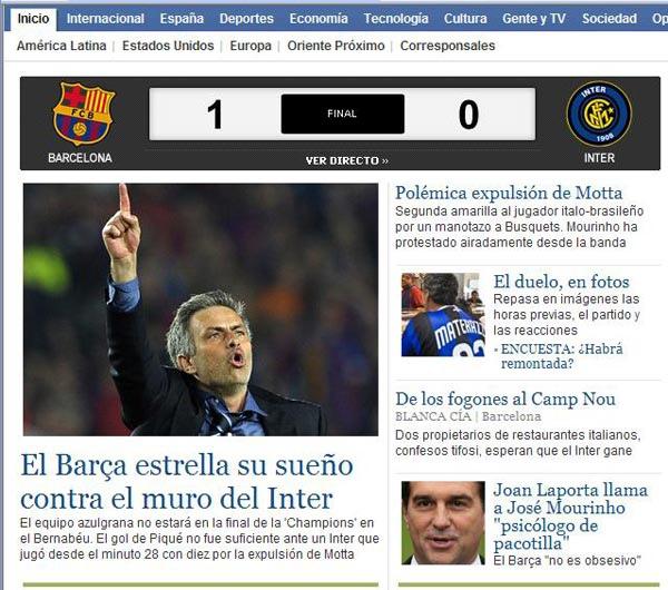 20100429 國米 總教練Mourinho 向少數客場球迷 高舉手臂慶賀勝利.jpg