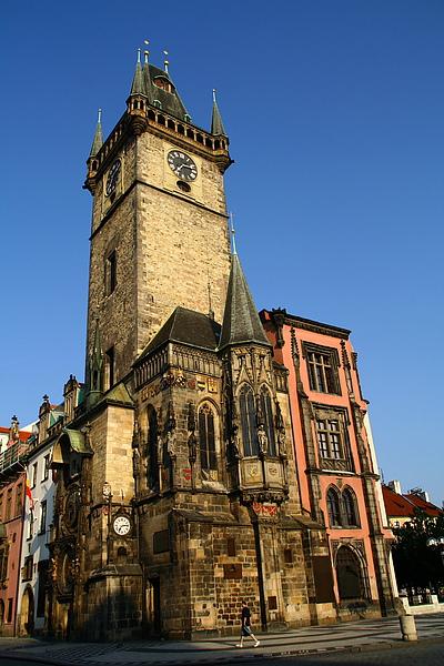09_4126_Praha_布拉格舊城廣場的天文鐘塔.JPG
