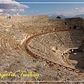 049_MG_8162_C2_希雷柏里斯最完整的羅馬競技場,由於旁邊的棉堡可以游泳,所以在古蹟中很難得的會看到比基尼美女.JPG