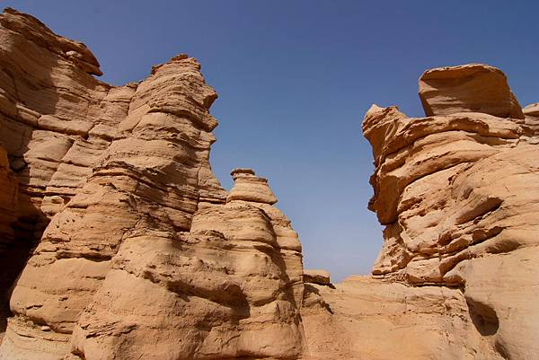 004_MG_0103_C_哈密雅丹地貌生態公園,有特色的岩石.JPG