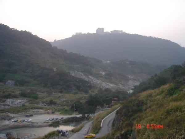 山上的風景