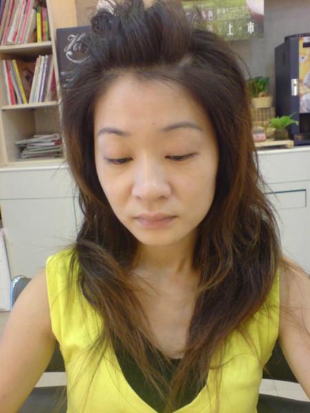 江文媛.燙髮前的樣子
