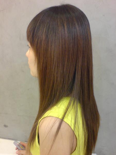 江文媛.燙髮後2