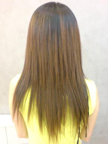 江文媛 燙髮後3