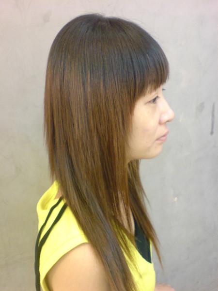 江文媛 燙髮後4