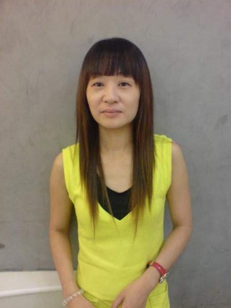 江文媛 燙髮後5