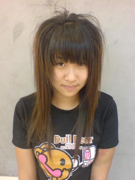 李芳伊燙玉米鬚+直髮照片1