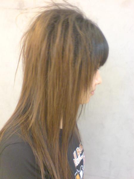 李芳伊 ~ 玉米鬚+直髮2