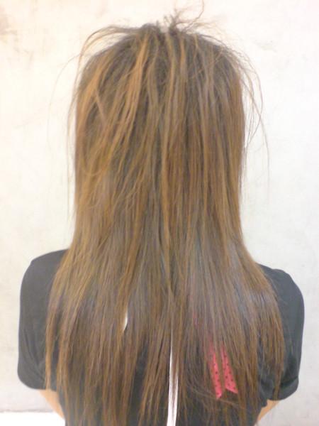 李芳伊~玉米鬚+直髮4