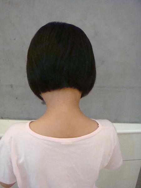 余佩璇剪髮1
