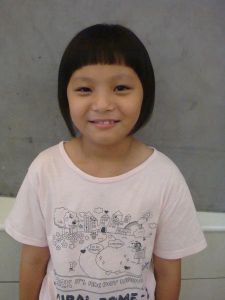 余佩璇剪髮3