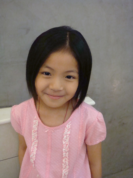 李艾凌剪髮後1
