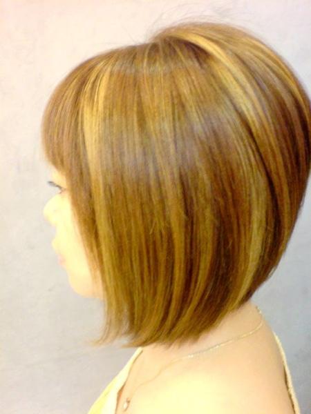 王美娟 染髮後側面1