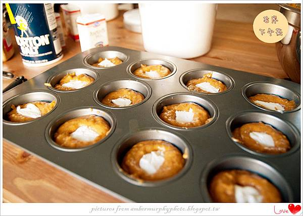 Pumpkin Cream Cheese Muffins-9_副本