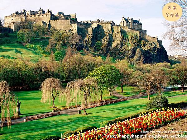 Edinburgh Castle, Edinburgh, Scotland_副本