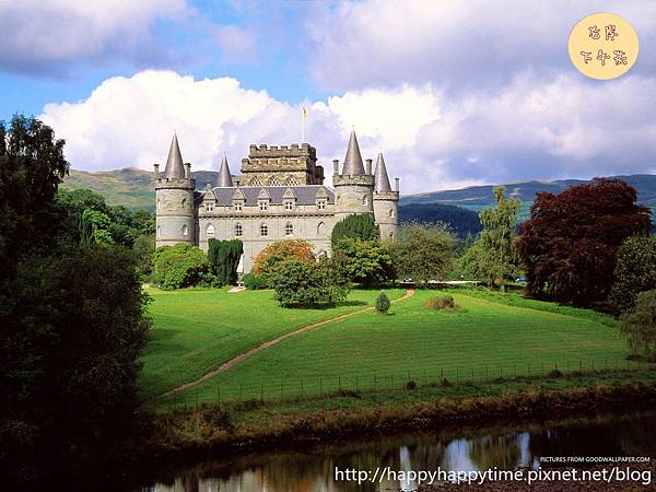 Inverary Castle, Scotland_副本