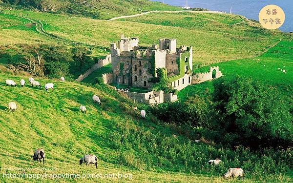 Clifden Castle, County Galway, Ireland_副本