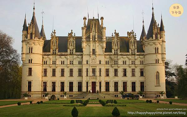 Castle Chateau Challain The Chambord Of Anjou_副本