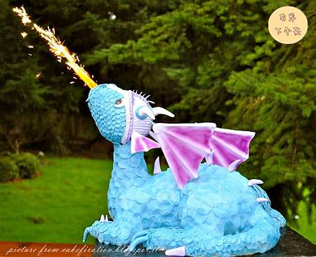 Dragon Cake blue-purple_副本