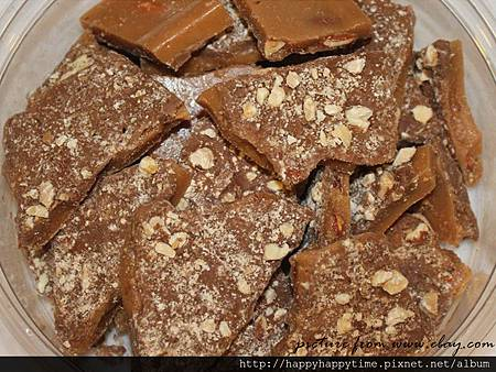 English Toffee candy.