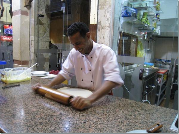 26227594:Egpyt 103 亞斯文(Aswan)的晚餐 – 甩餅