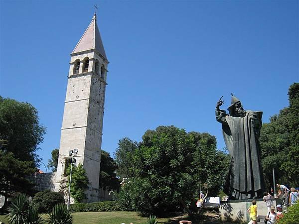 Statue of Gregorius of Nin