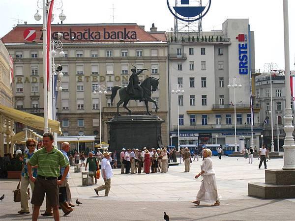 Ban J Jelačić Square