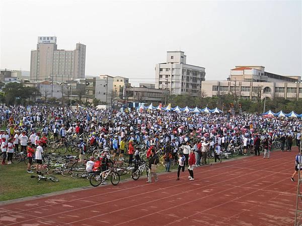 20090221 媽祖萬人崇Bike (1)