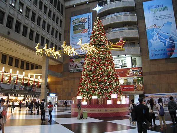 台北車站耶誕樹