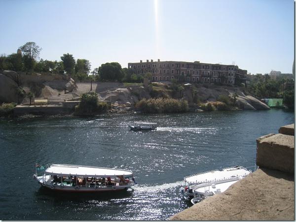 26228200:Egpyt 105 亞斯文(Aswan)的象島(Elephantine Island)與老瀑布飯店(Old Cataract Hotel)