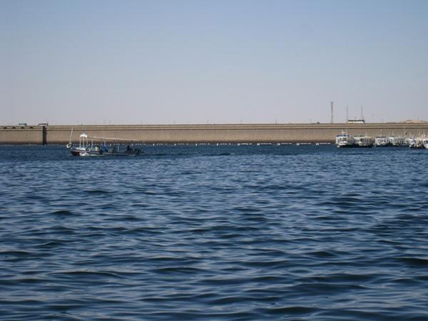 26140559:Egpyt 101 亞斯文(Aswan)的高壩(Aswan High Dam)與低壩(Aswan Low Dam)