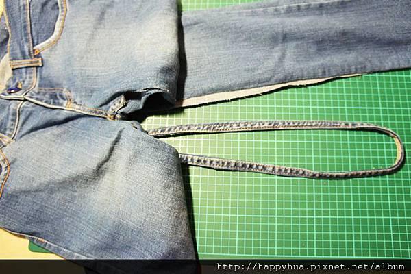 牛仔褲邊杯墊 (2)